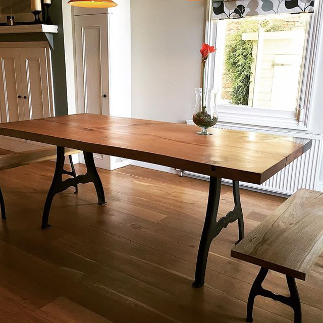 Work of art dining table