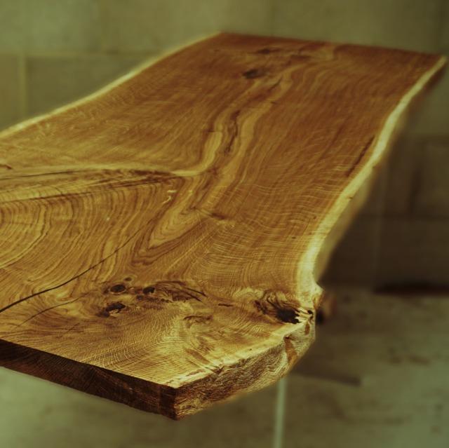 work of art wooden surface