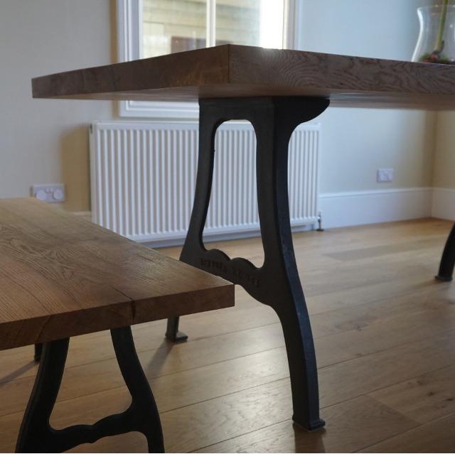 Artisan table legs