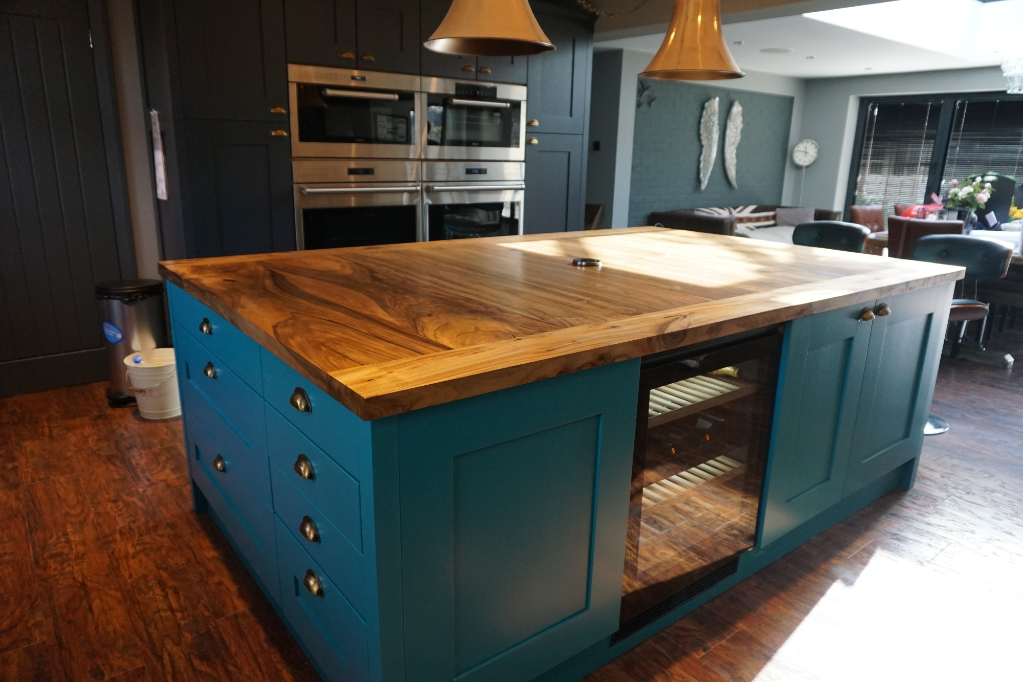 Bespoke Kitchen Islands Earthy Timber