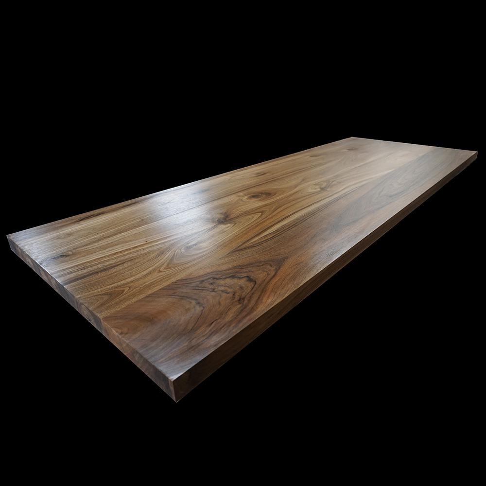 Bespoke Earthy Walnut Resin Desk Tops