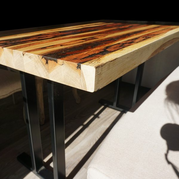 Reclaimed Wooden Epoxy Resin Table