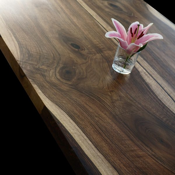 Walnut Epoxy Resin Wooden Table