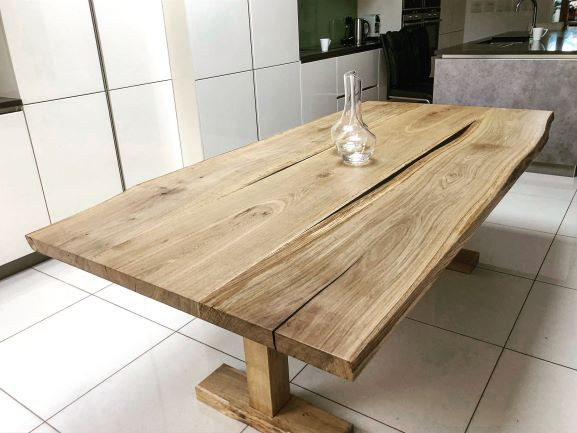 live edge wood tables EARTHY TIMBER UK
