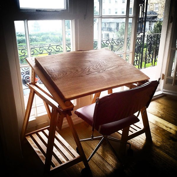 Bespoke Oak Easel Desk Top