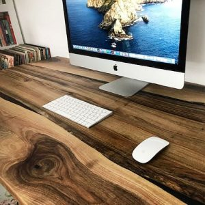 wooden desk tops by Earthy Timber