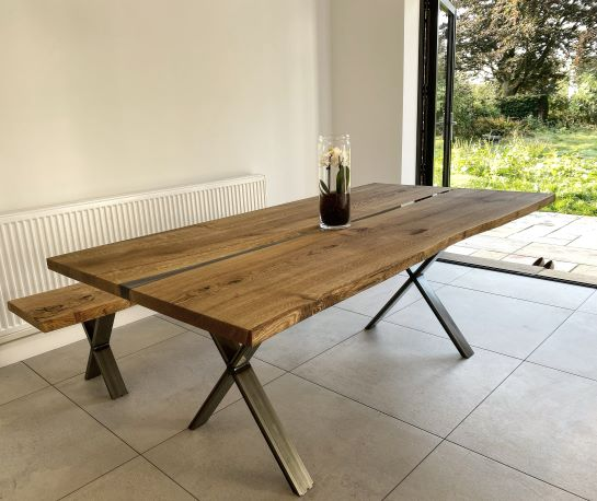 river tables UK by Earthy Timber