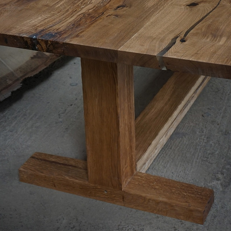 solid wood table legs wooden tables bases uk