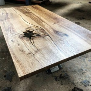river oak coffee table by Earthy Timber