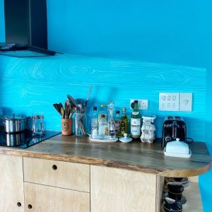 live edge oak worktops UK by Earthy Timber