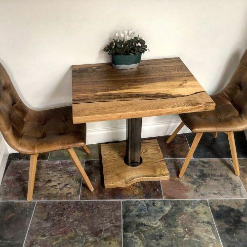 oak kitchen table by Earthy Timber UK