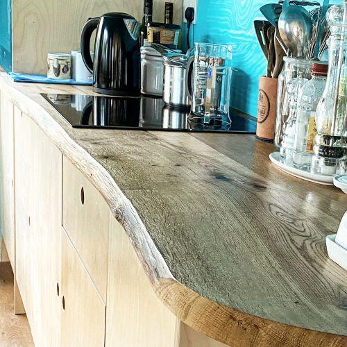 oak worktops live edge by earthy timber uk