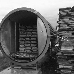 Earthy Timber vacuum kiln