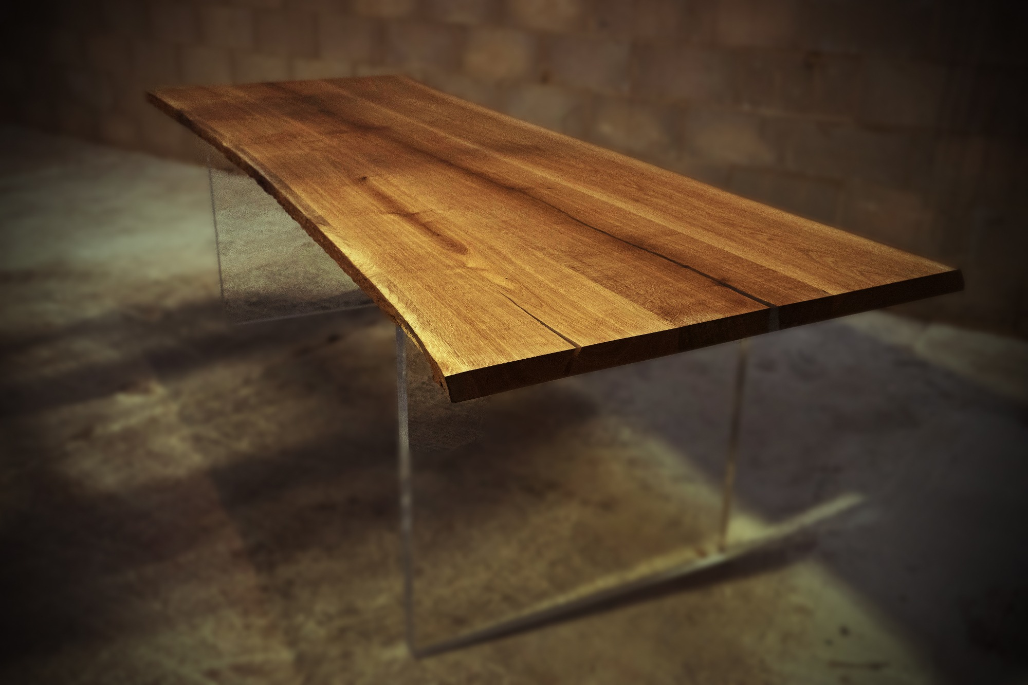 Luxury Wooden Reception Desk