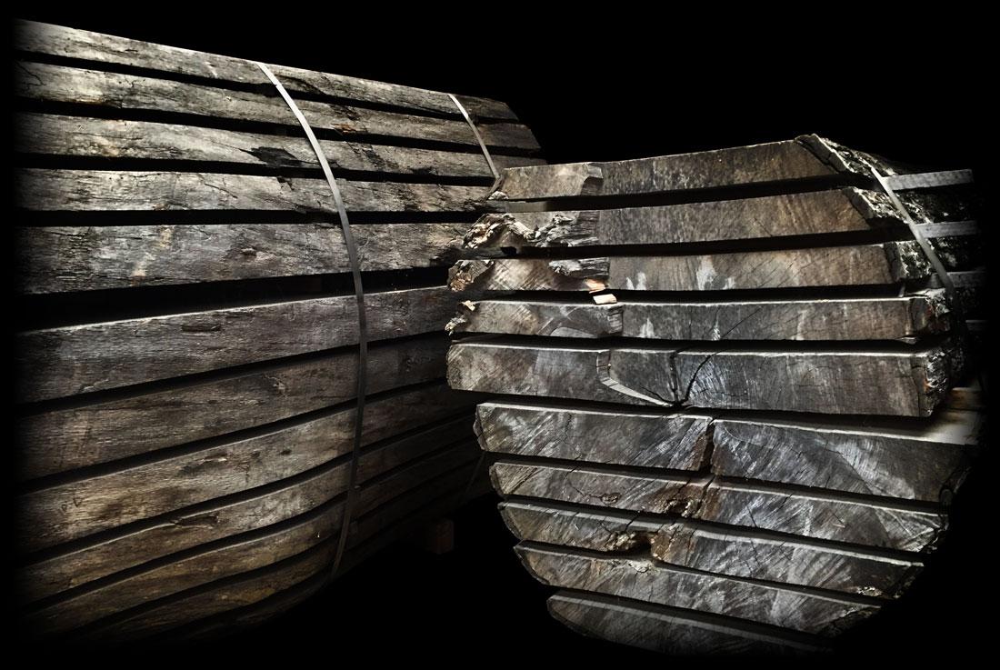 Timberdeal Earthy Timber kiln dried waney edge wood slabs uk