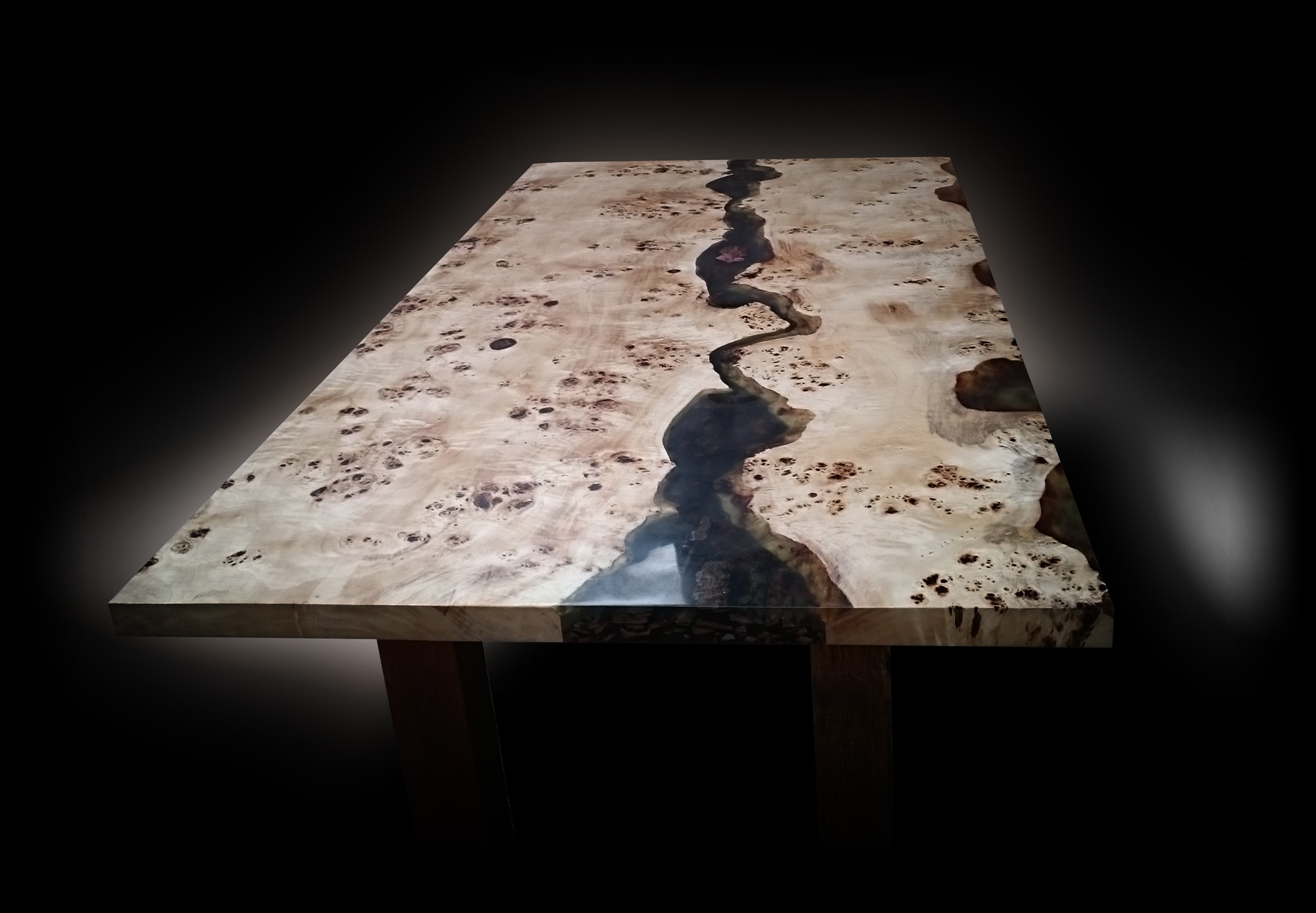 high end luxury earthy river dining table uk
