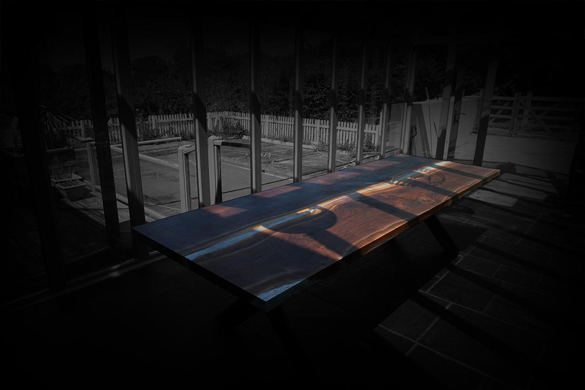 bespoke solid wood designer table