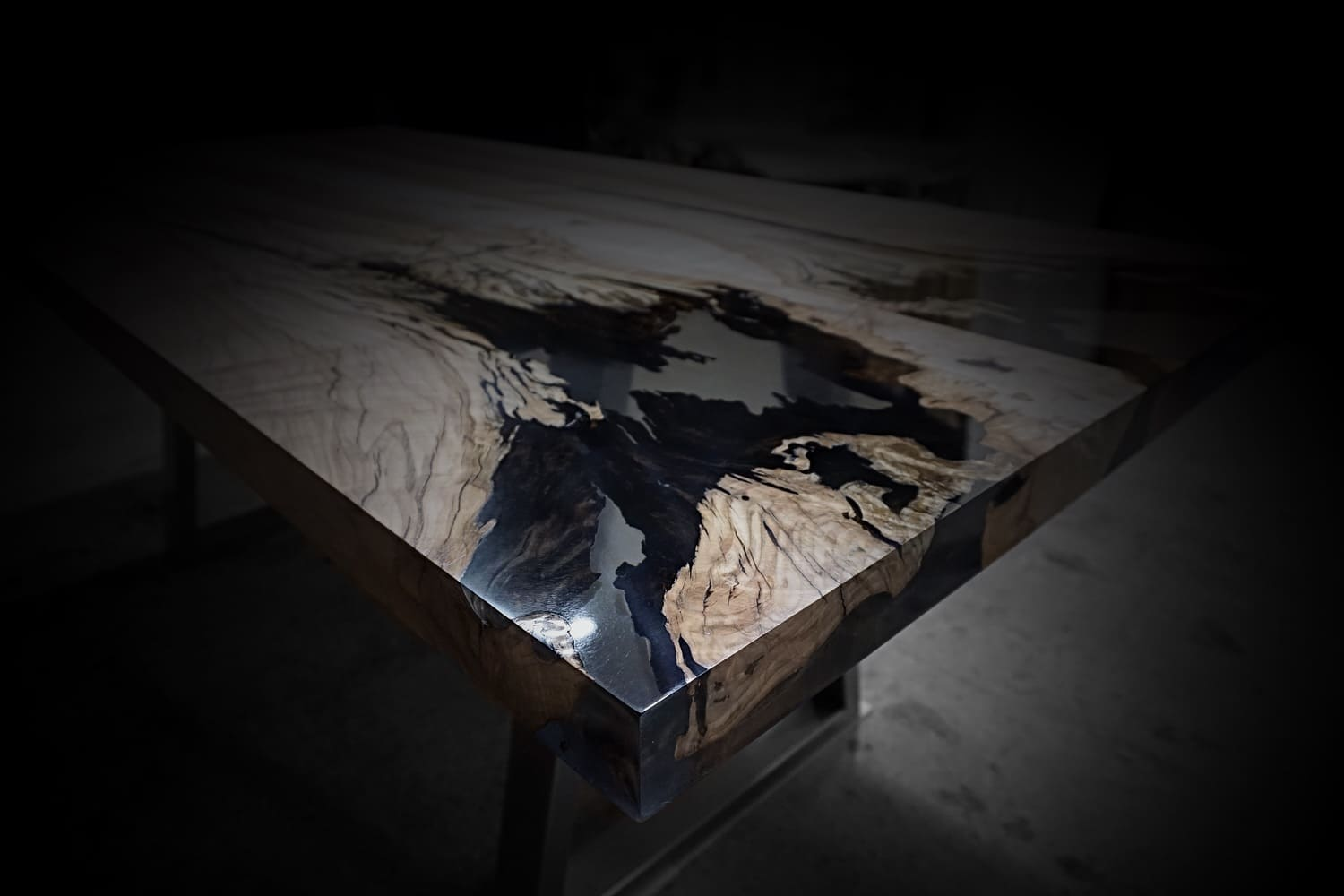 wild wood table earthy timber designer